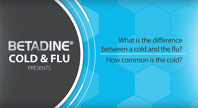 What is the difference between a cold and a flu?