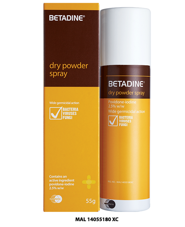 BETADINE Dry Powder Spray